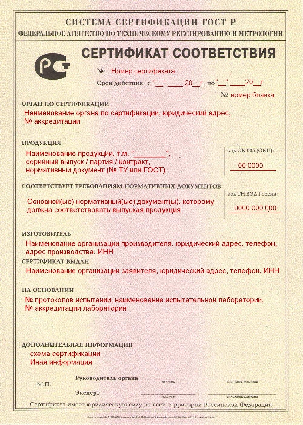 сертификат контракт схема